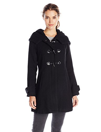 Steve Madden Women's Wool Toggle Coat