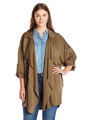 Jessica Simpson Women's Plus-Size Pentunia Coat