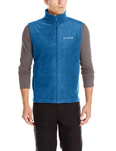 Columbia Men's Cathedral Peak Front-Zip Fleece Vest