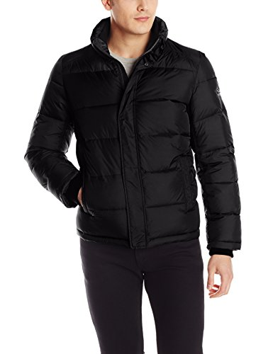 Calvin Klein Men's Puffer Jacket, Black, Large