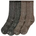 Kirkland Signature Men's Outdoor Trail Sock Merino Wool Blend Assorted Pack 4 pair (Medium)