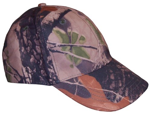 N'Ice Caps Boys North Woods Print Camouflage Baseball Cap
