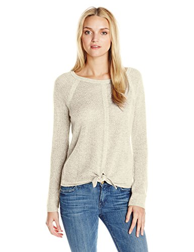 Splendid Women's Tie Front Cashmere Blend Sweater