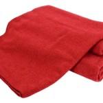 Creswick Australian Mills Hobart Machine Washable Australian Wool Blend Blanket, Twin, Cranberry