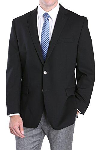 Calvin Klein Slim Fit Blazer for Men – Black, 44 Long