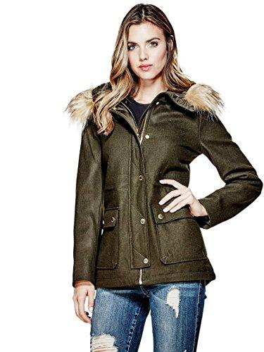 G by GUESS Women's Araceli Wool-Blend Coat