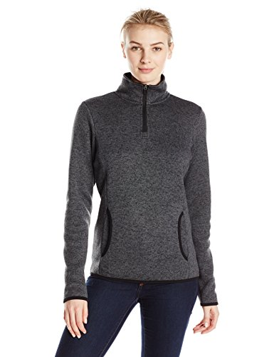 Charles River Apparel Women's Heathered Fleece Pullover