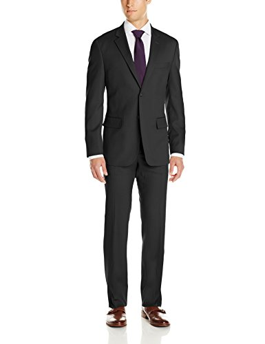 Nautica Men's Two-Piece Classic Fit Suit with Two-Button Side Vent Jacket and Pant