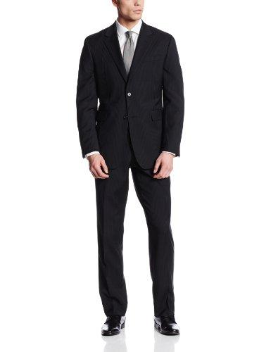 Nautica Men's Two-Button Center-Vent Suit