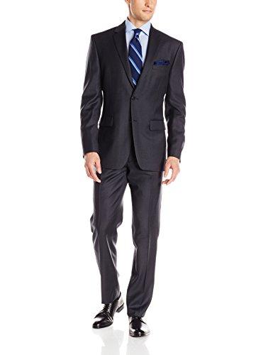Vince Camuto Men's Flannel Two-Button Suit