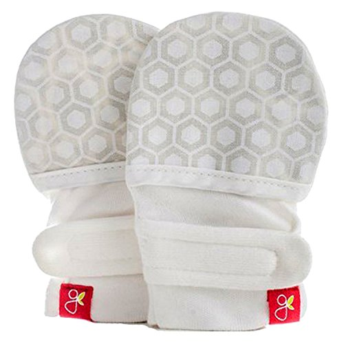Goumikids Goumimitts Soft Stay On Scratch Mittens – Stops Scratches and Germs