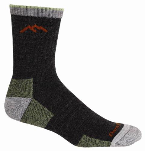 Darn Tough Men's Merino Wool Hiking Socks, Lime, Medium