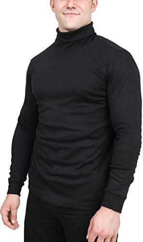 Men's Turtleneck Shirt by Utopia Wear