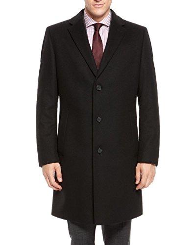 Hugo Boss 'Stratus' Wool-Cashmere Lapel Collar Coat