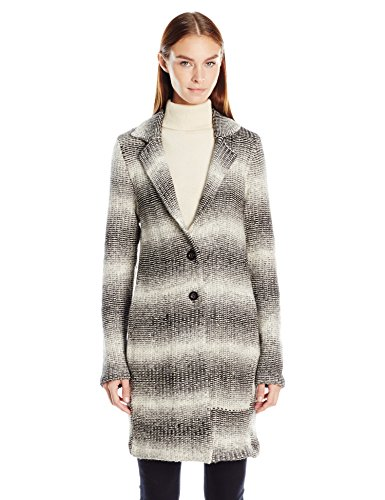 Tommy Hilfiger Women's Wool Toggle Wool Coat with Sherpa Lined Hood