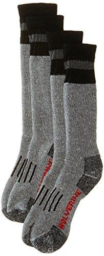 Wolverine Men's 2 Pack Hunter Wool Over The Calf Boot Sock