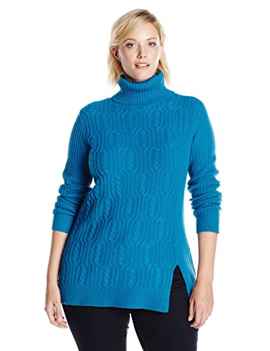 Pendleton Women's Plus Size Everyday Luxe Tunic Sweater