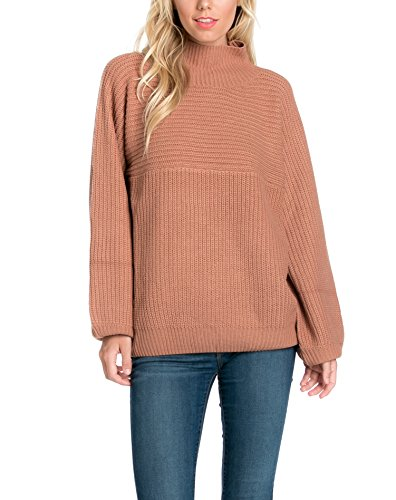Women's Mock Neck Sweater