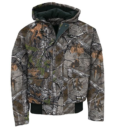 Walls Men's Legend Insulated Hooded Jacket with Drytec Water-Repellent Finish