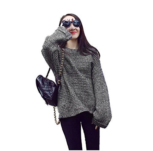 GAMT Sweater Women Hedging Loose Bat Sleeve
