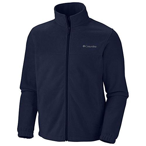 Columbia Men's Steens Mountain Front-Zip Fleece Jacket (Collegiate Navy 01, Small)