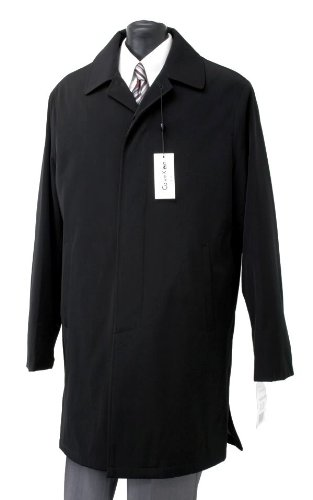 Calvin Klein Mens Park Raincoat 3/4 Length Black 40L