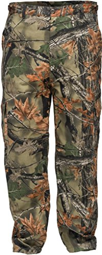 Trail Crest Men's Camo 6 Pocket Cargo Hunting /Hiking Pants Trousers W/ Can Cooler, Medium