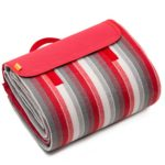 YONOVO Large Waterproof Picnic Blanket Mat for Camping Beach Outdoor (Red-B-2M)