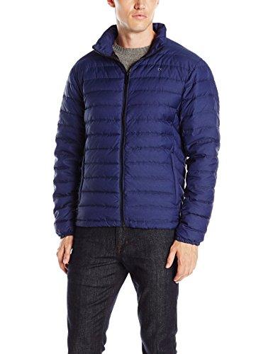 Calvin Klein Men's Classic Packable Down Jacket, Navy Melange, Large
