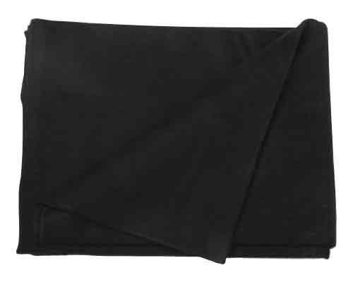 "SE BI64845BK Warm 4-lb. Blanket (64"" x 84"") with 80% Wool, Black"